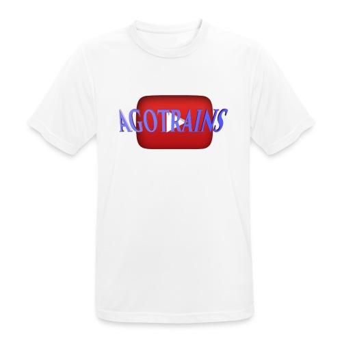 AGOTRAINS - Maglietta da uomo traspirante