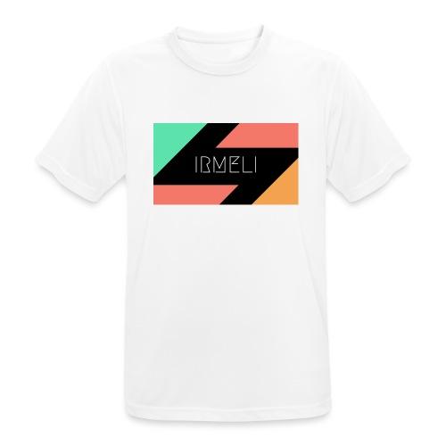 Irmelis Logo glothes - miesten tekninen t-paita