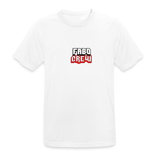 Fabo Crew Merch - Männer T-Shirt atmungsaktiv