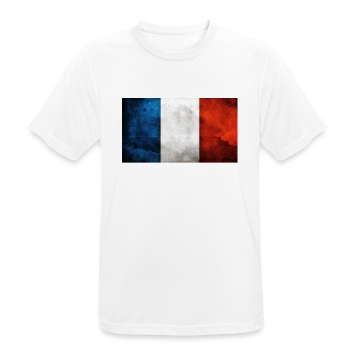 France Flag - Men's Breathable T-Shirt