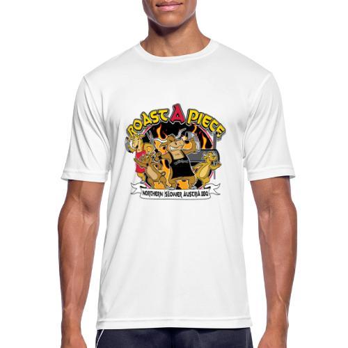 Roast a Piece Streetwear - Männer T-Shirt atmungsaktiv