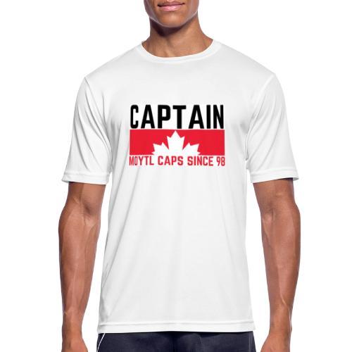 Captain Canada - Männer T-Shirt atmungsaktiv