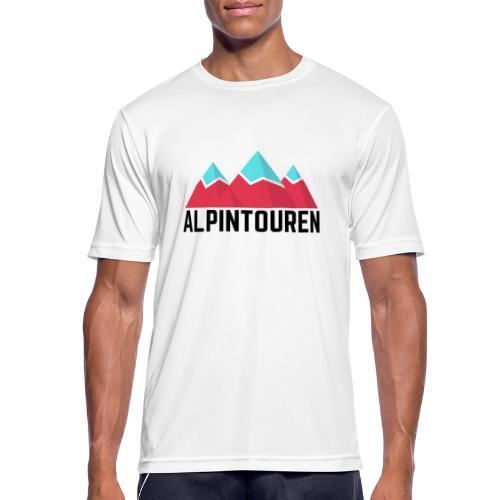 Alpintouren - Männer T-Shirt atmungsaktiv
