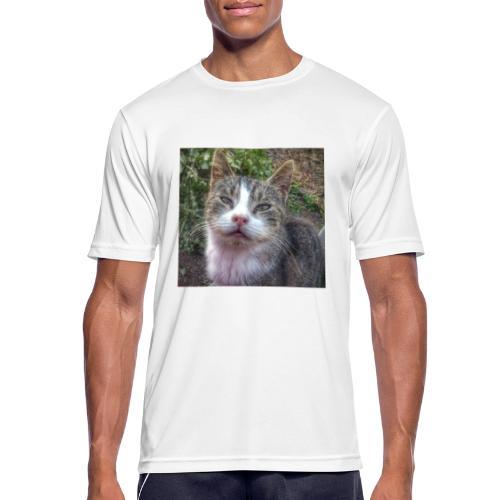 Katze Max - Männer T-Shirt atmungsaktiv