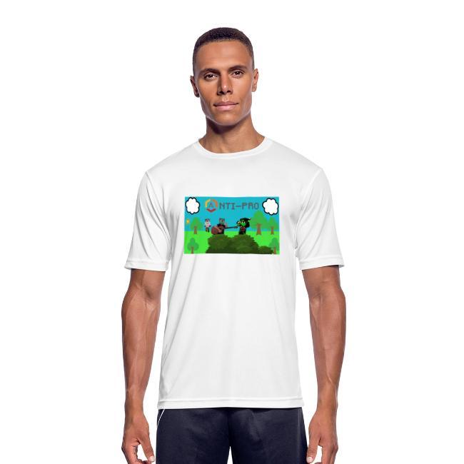Maglietta Immagine Mario Anti-Pro