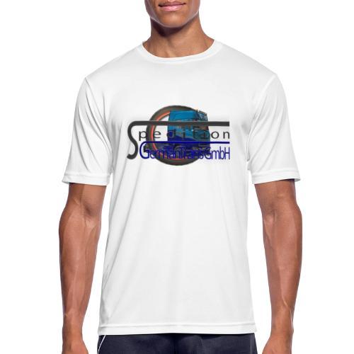 Firmenlogo der Spedition GermanTrans GmbH - Männer T-Shirt atmungsaktiv