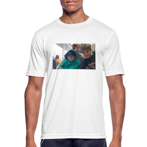 hihi - Andningsaktiv T-shirt herr