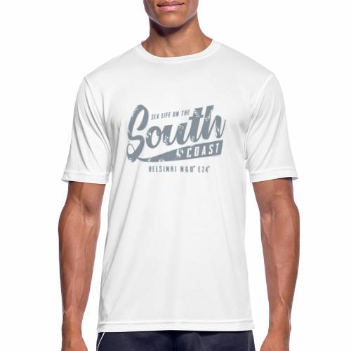 ETELÄRANNIKKO, SOUTH COAST HELSINKI COOL T-SHIRTS - miesten tekninen t-paita