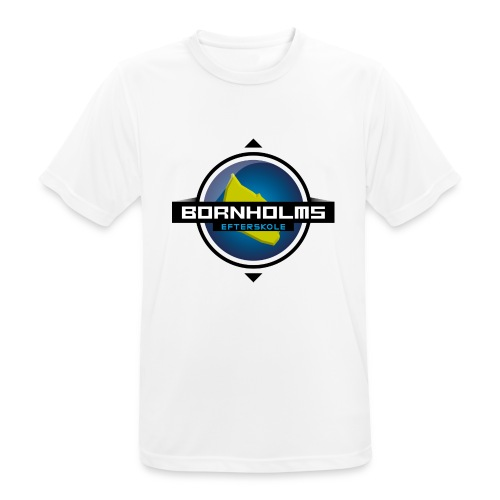 BORNHOLMS_EFTERSKOLE - Herre T-shirt svedtransporterende