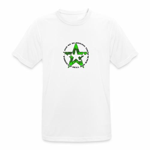 ra star slogan slime png - Männer T-Shirt atmungsaktiv