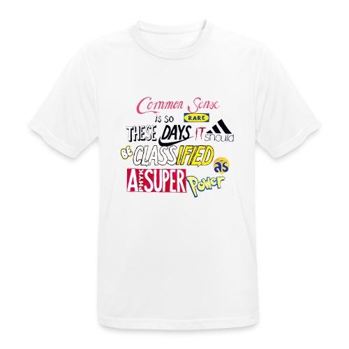 PHYK-logoja - miesten tekninen t-paita