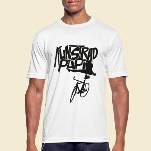 Kunstrad | Artistic Cycling - Kunstrad Papi black - Männer T-Shirt atmungsaktiv