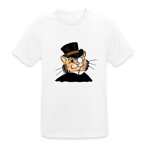 Gatto nonno - Maglietta da uomo traspirante