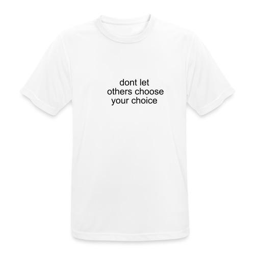 TheSabel a new start - Herre T-shirt svedtransporterende