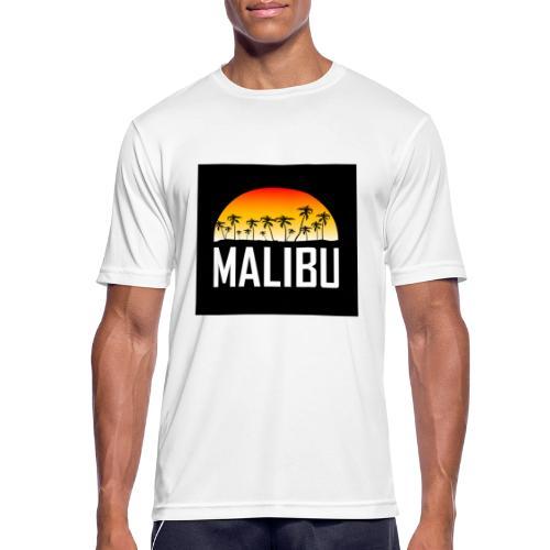 Malibu Nights - Men's Breathable T-Shirt