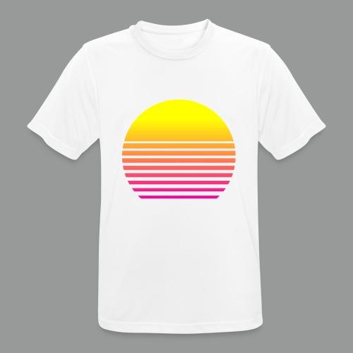 80s Sun - Männer T-Shirt atmungsaktiv