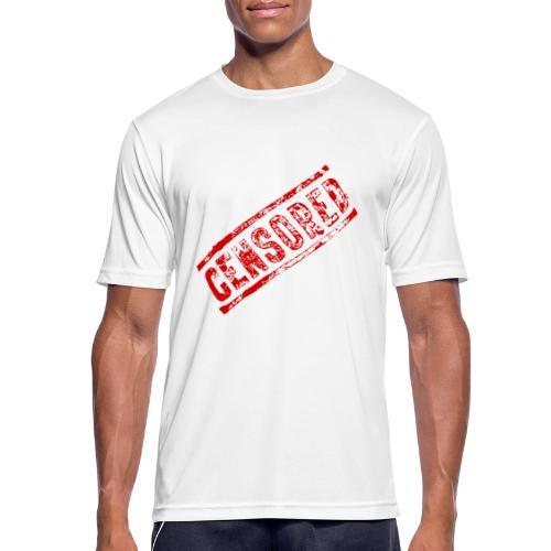 Censored - Männer T-Shirt atmungsaktiv