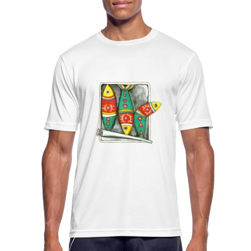 Les sardines du Portugal - T-shirt respirant Homme
