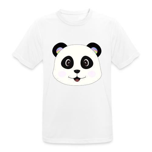panda rainbow - Camiseta hombre transpirable