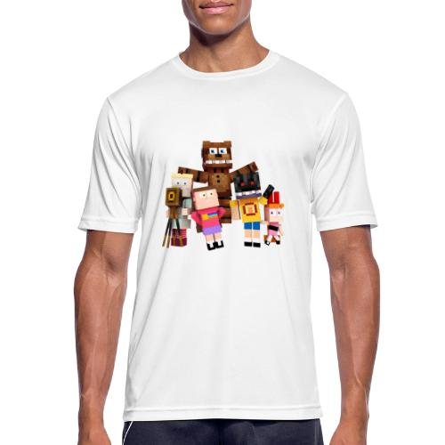 Withered Bonnie Productions - Meet The Gang - Men's Breathable T-Shirt