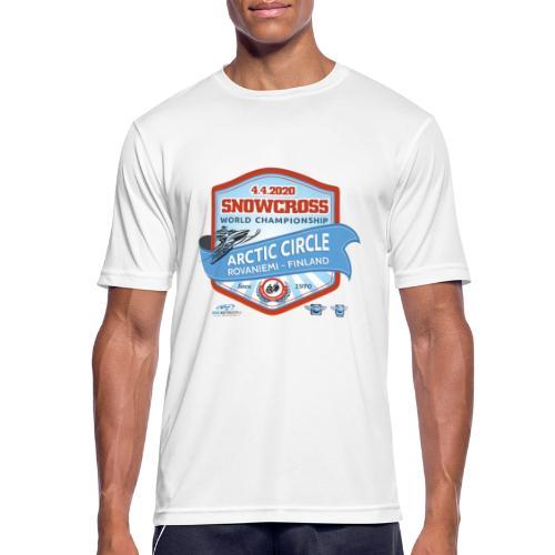 MM Snowcross 2020 virallinen fanituote - miesten tekninen t-paita
