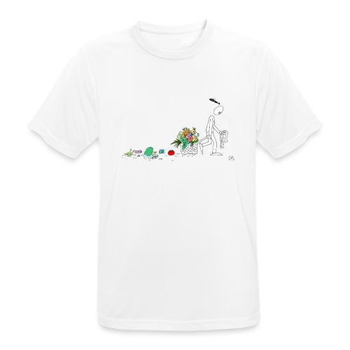 frukt og grønt handleveske - Pustende T-skjorte for menn