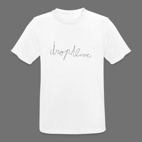 DropAlive - Mannen T-shirt ademend actief