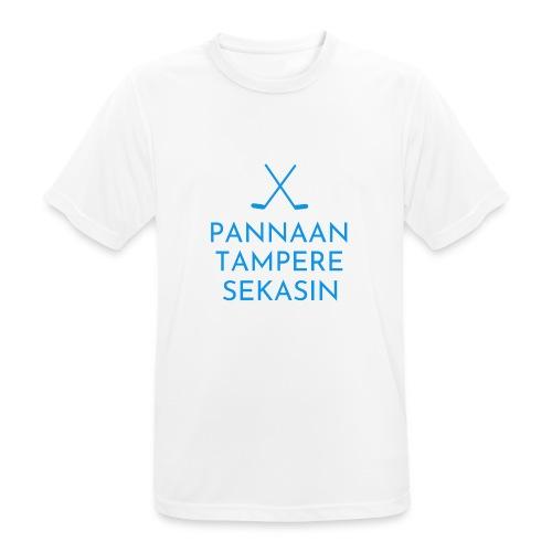 Pannaan Tampere Sekasin - miesten tekninen t-paita