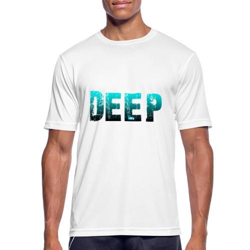 Deep In the Night - Maglietta da uomo traspirante