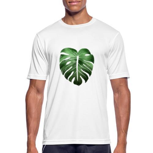 Foglia dalla Natura - Maglietta da uomo traspirante