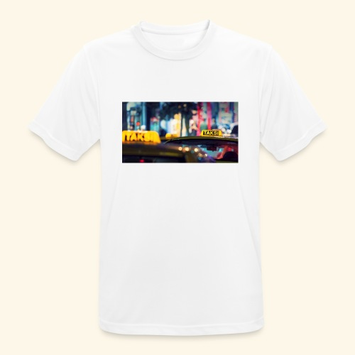 Taksi - Männer T-Shirt atmungsaktiv