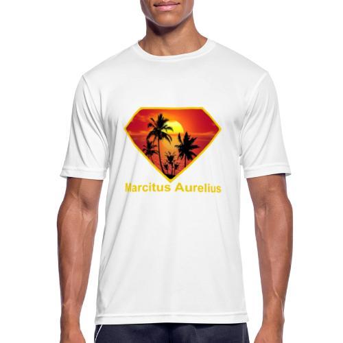 Sun - Männer T-Shirt atmungsaktiv