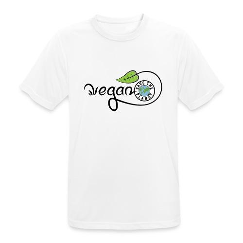 Vegan - T-shirt respirant Homme