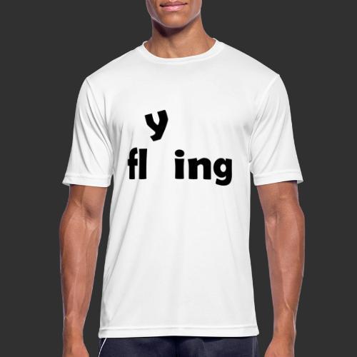 flying - Männer T-Shirt atmungsaktiv