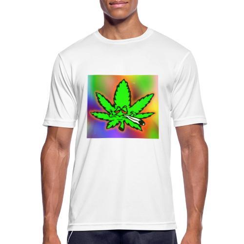 best weed - miesten tekninen t-paita