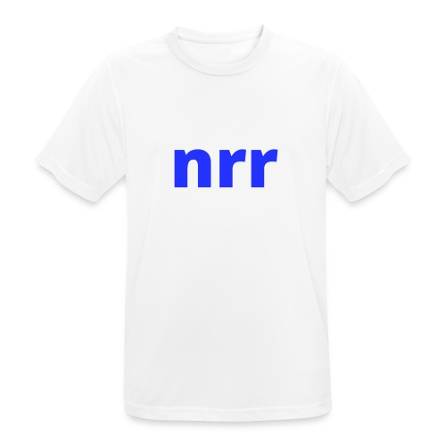 NEARER logo - Men's Breathable T-Shirt