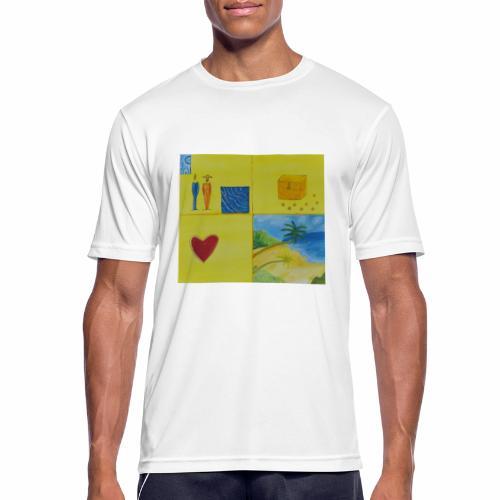 Viererwunsch - Männer T-Shirt atmungsaktiv