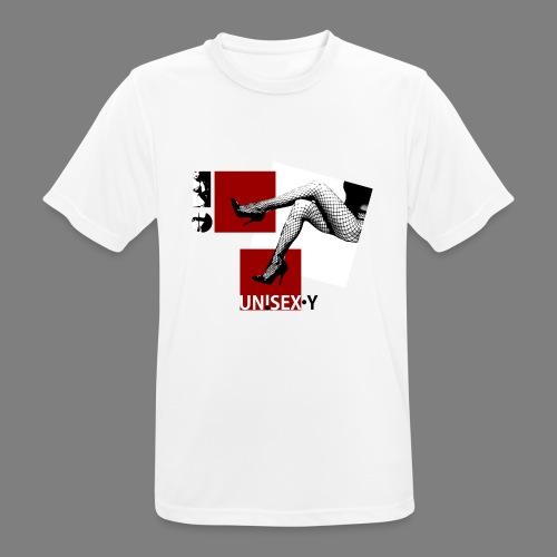 SEXY GIRL STOCKING SHOES 03 - Maglietta da uomo traspirante