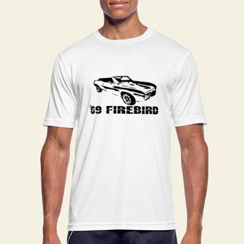 firebird small - Herre T-shirt svedtransporterende