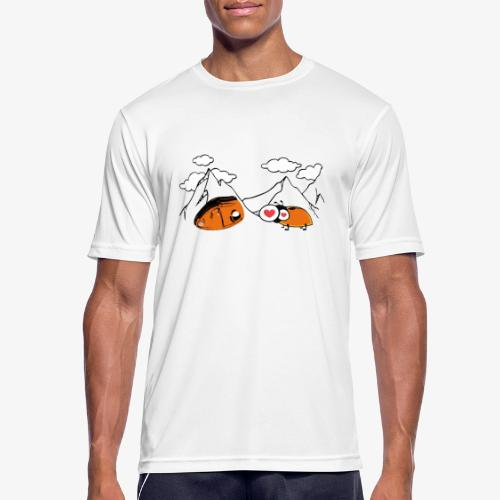 Grigri enamorado - Men's Breathable T-Shirt