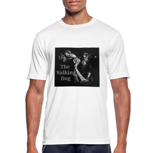 The Walking Dog - Männer T-Shirt atmungsaktiv