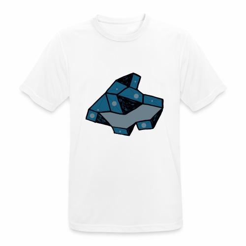 dot rock - Mannen T-shirt ademend actief