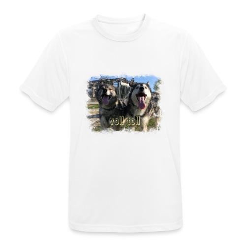Voll toll - Männer T-Shirt atmungsaktiv