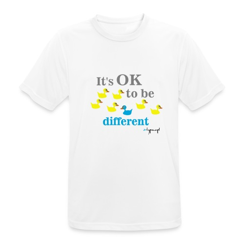 It's OK to be different - Koszulka męska oddychająca