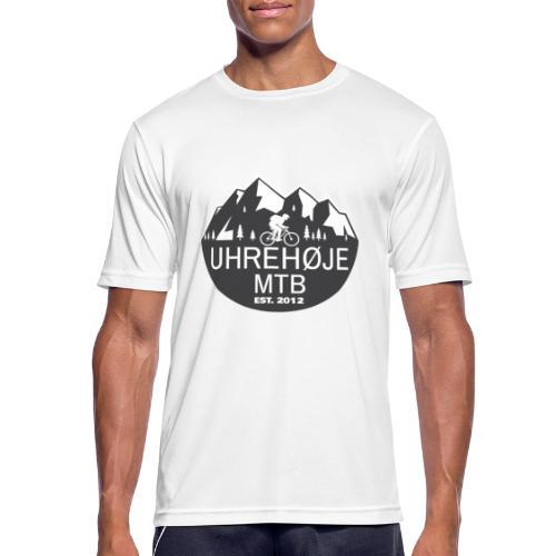 UhreHøje MTB - Herre T-shirt svedtransporterende