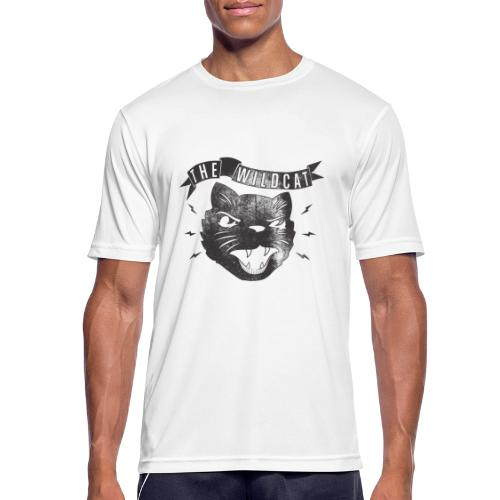 The Wildcat - Männer T-Shirt atmungsaktiv
