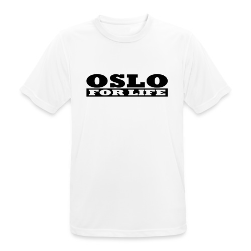 Oslo fürs Leben - Männer T-Shirt atmungsaktiv