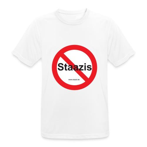 Staazis Verboten - Männer T-Shirt atmungsaktiv