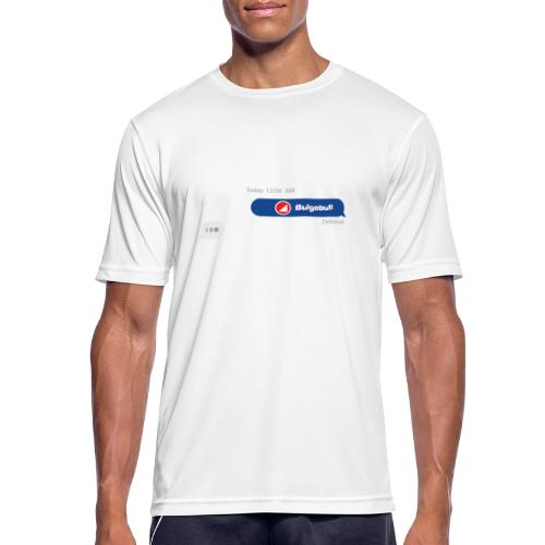 BULGEBULL TEXT - Men's Breathable T-Shirt