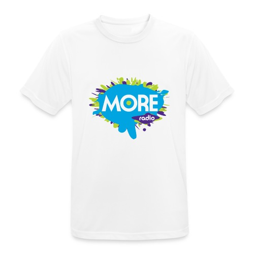 More Radio 2017 - mannen T-shirt ademend